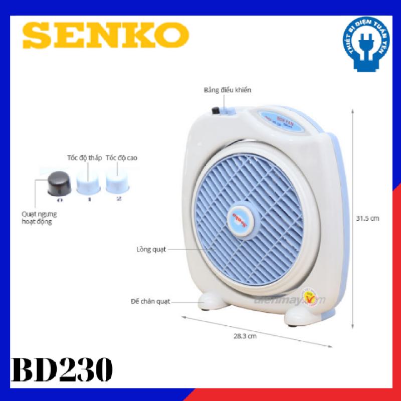 Quạt bàn đảo Senko BD230
