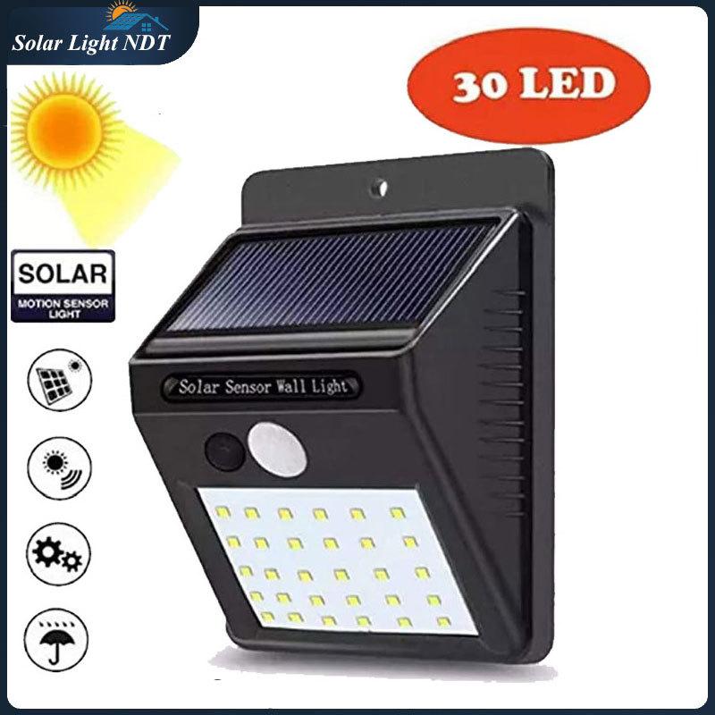 Đèn Năng Lượng Mặt Trời 30 led Cảm biến chuyển động