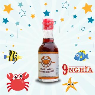 Nước mắm dành cho em bé ăn dặm 60ml (Loại đặc biệt nhạt muối) 9-Nghĩa Phú Quốc - Nước mắm truyền thống 100% từ cá cơm sạch và nhạt muối, giúp bé ăn ngon miệng thumbnail
