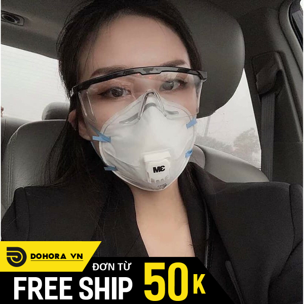 Giá bán Kính chống dịch mẫu mới, kính chống bụi, kính bảo hộ lao động, giúp an toàn sức khỏe, phù hợp mọi lứa tuổi