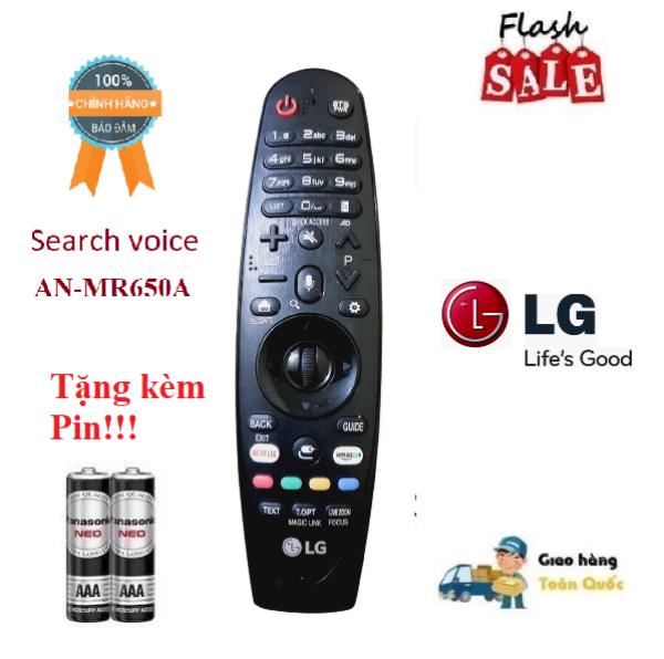 Bảng giá Remote Điều khiển TV LG AN-MR650A giọng nói TV LG 2017- Hàng chính hãng 100% Free ship + Tặng kèm Pin
