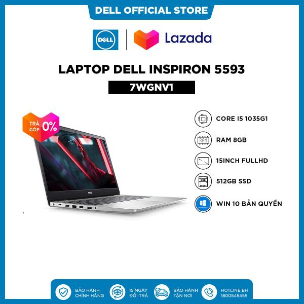 Bảng giá [VOUCHER 200K -TRẢ GÓP 0%] Laptop Dell Inspiron 5593 (N5I5461W) Core i5 1035G1   15.6inch FullHD   Ram 8GB   512GB SSD   VGA 2GB MX230   Win10 Phong Vũ