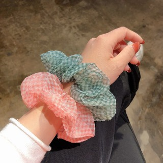 Dây Chun Buộc Tóc Vải Scrunchies Hàn Quốc Đeo Tay Cực Đẹp SC05 thumbnail