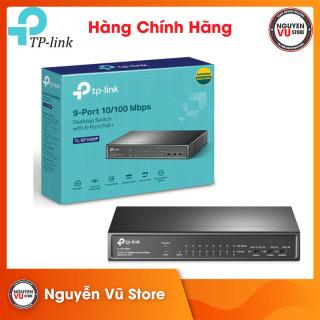 Bộ Chia Mạng Switch Poe TPLink 9-Port TL-SF1009P - Hàng Chính Hãng thumbnail