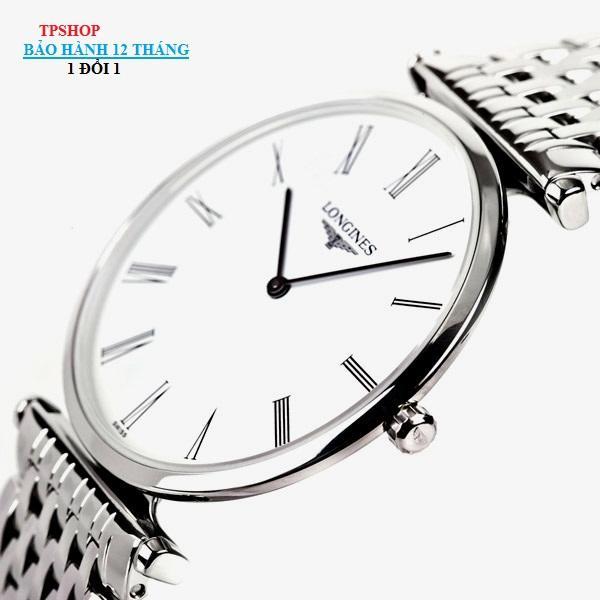 Đồng hồ Longines Classic Siêu Mỏng Siêu Bền + Vòng Đá Tỳ Hưu Tự Nhiên + Thẻ Bảo Hành bán chạy
