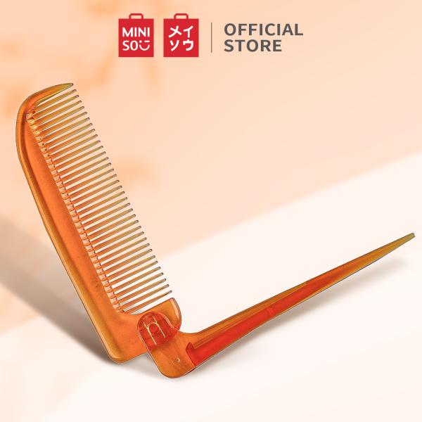 Lược chải tóc Miniso có thể gập lại (Vàng) nhập khẩu