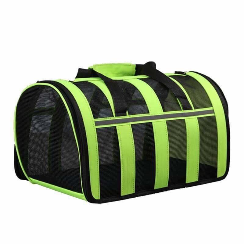 Túi balo chó mèo cao cấp - xanh lá