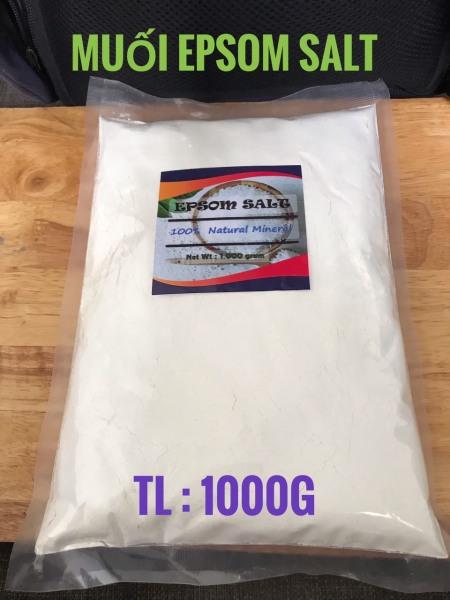 1kg-Muối Epsom Salt (MgSO4 Bột Nhiễn)#gói 1kg giá rẻ