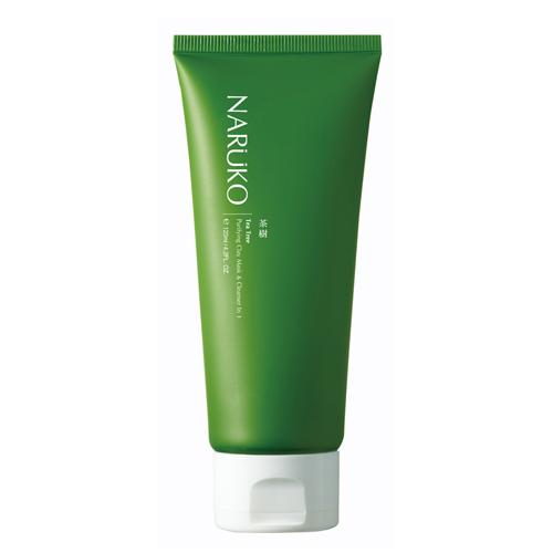 Naruko sữa rửa mặt dạng bùn trà tràm 120 gr - Naruko Tea Tree Purifying Clay Mask and Cleanser in 1 120 gr