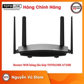 Router Wifi Băng Tần Kép AC1200 TOTOLINK A720R - Hàng Chính Hãng thumbnail