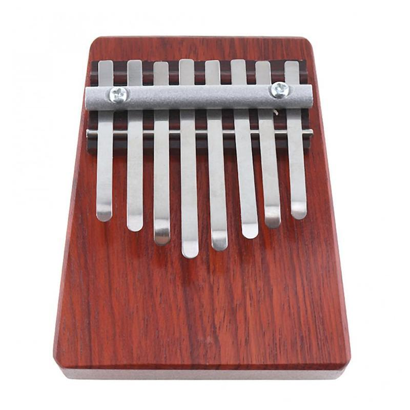 8 Keys Mini Finger Piano Kalimba Thumb Traditional African Music Instrucments