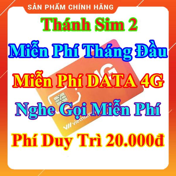 Thánh Sim 2 - Miễn Phí DATA 4G - Miễn Phí Tháng Đầu - Nghe Gọi Miễn Phí Nội Mạng - Phí Duy Trì 20.000đ - Shop Lotus Sim Giá Rẻ