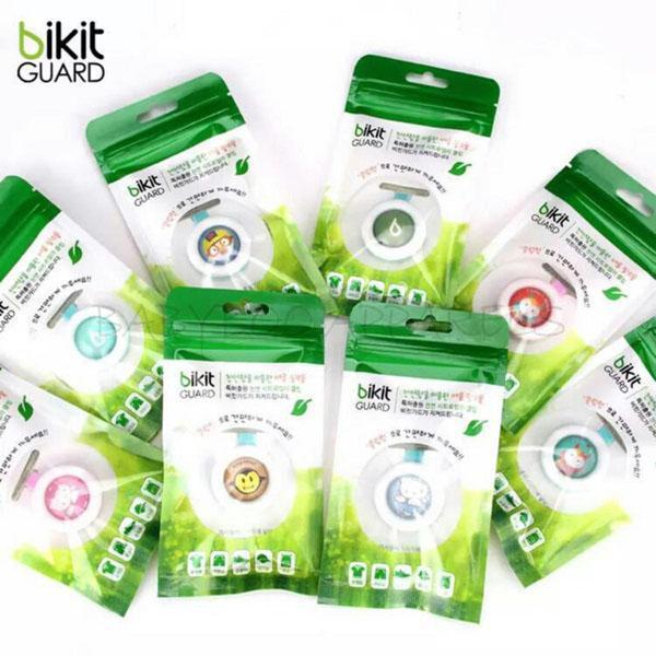 [Sale] Combo 8 Kẹp Bikit chống muỗi cho bé triết xuất hương tinh dầu hình ngộ nghĩnh ( Nhiều mẫu - Made in Korea -Hàn Quốc )