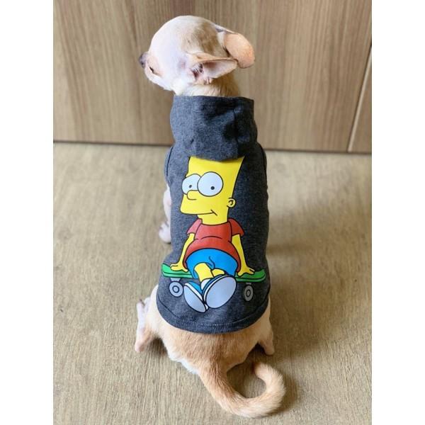 áo simson có nón dành cho chó mèo 0.5kg -8kg
