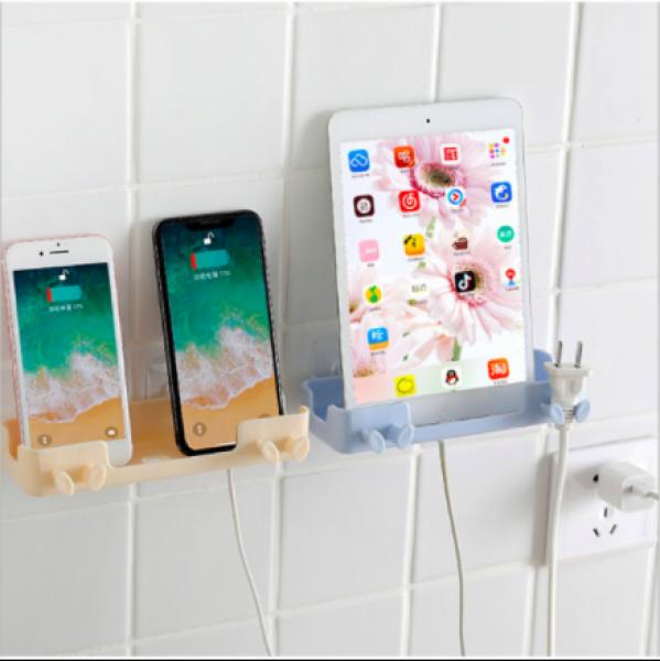 Kệ treo sạc để Ipad , điện thoại có giá để đồ dán tường chắc chắn.