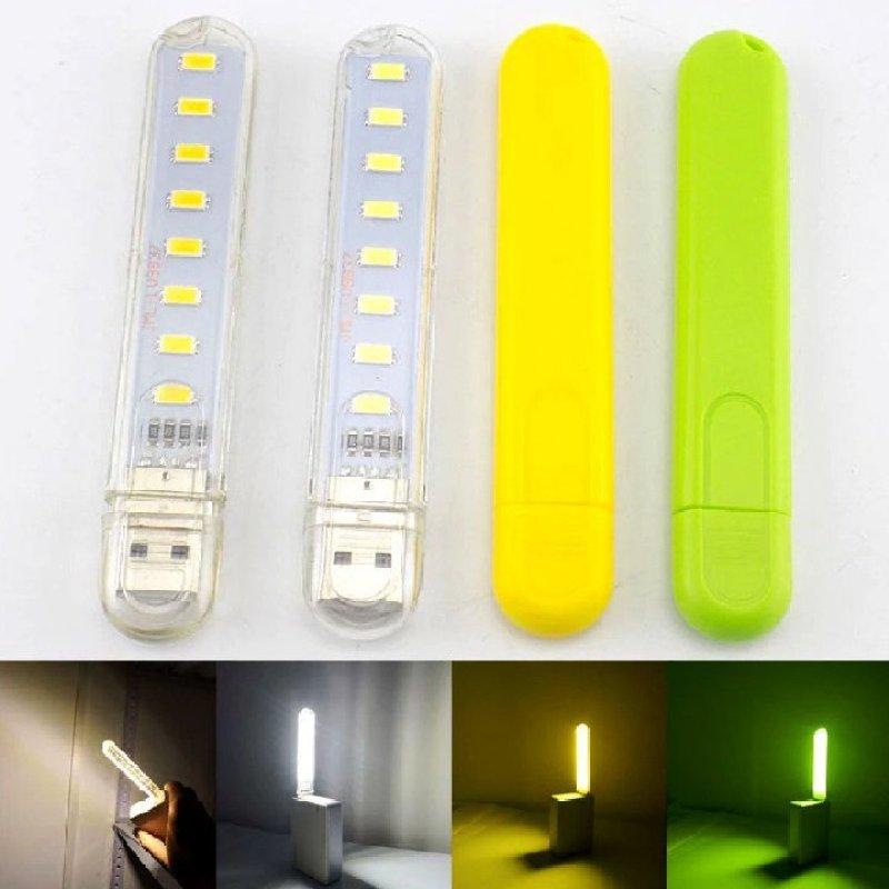 Bảng giá Đèn USB 8 LED ánh sáng trắng-vàng Phong Vũ