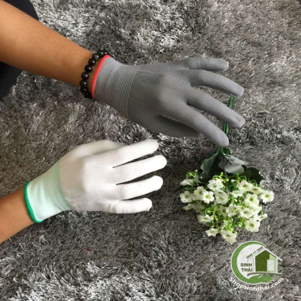 [HCM]Găng tay bao tay thun co giãn làm việc làm vườn sửa chữa dọn dẹp - giao màu ngẫu nhiên