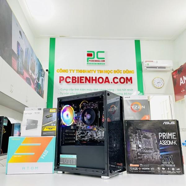Bảng giá Bộ PC AMD Ryzen 3200G A320 8G 120G X450 Phong Vũ