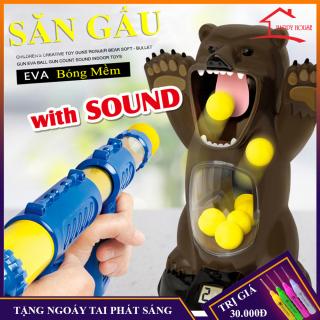Đô chơi ném gâ u bă ng du ng cu cho i bông mê m ne n khi ,combo đồ chơi giải trí,an toàn cho bé thumbnail
