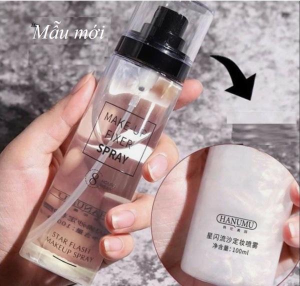 Xịt cố định lớp Makeup nhũ chảy HANUMU Makeup FIXXER Spray cao cấp