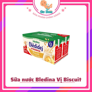Sữa nước Bledina Vị Biscuit Cho bé lốc 4 hộp 250ml thumbnail