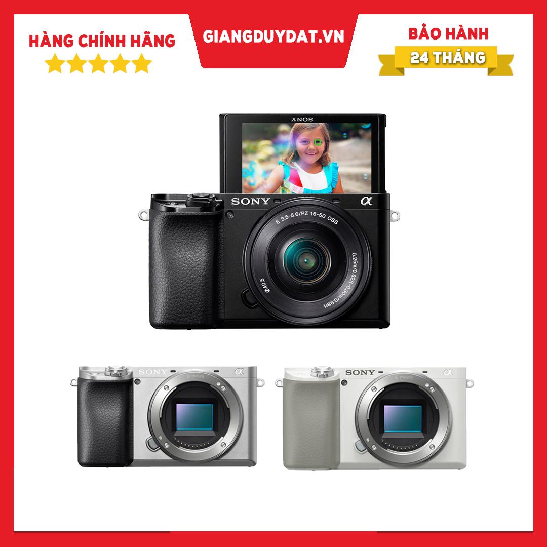 Máy Ảnh Sony Alpha A6100 Kèm Ống Kính Kit 16-50mm F3.5-5.6 OSS - Chính Hãng Sony Việt Nam