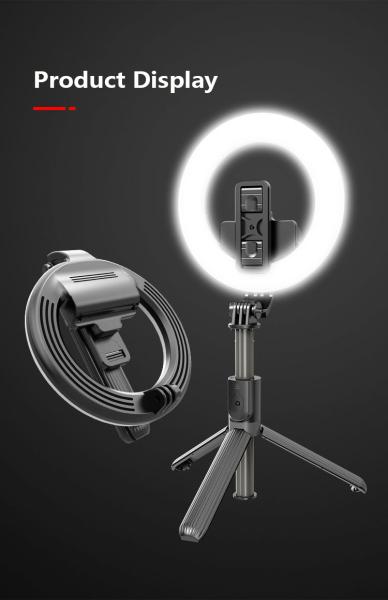 Bảng giá Gậy tự sướng Chính Hãng. Gậy Selfie L07 5 Inch Kết Nối Bluetooth Có Đèn Led Hỗ Trợ Chụp Ảnh Selfie.Gậy Tự Sướng Ba Chân Với Vòng Đèn LED  Gậy Selfie - Giá Đỡ Điện Thoại – Livestream - Tripod   Chụp Ảnh  Bluetooth Chụp Từ Xa, .