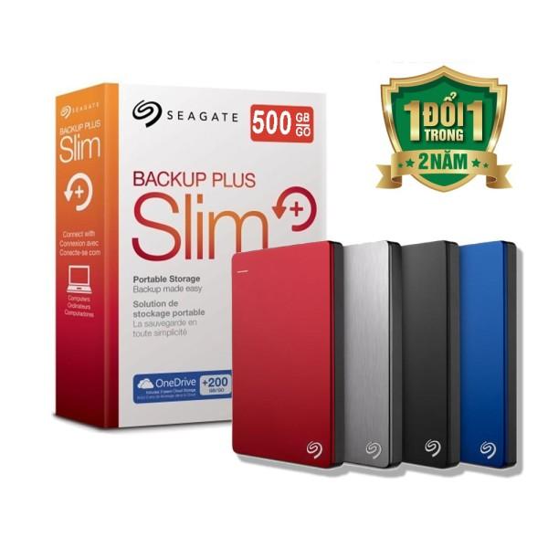 Bảng giá [HCM]Ổ CỨNG DI ĐỘNG SEAGATE 500GB BACKUP SLIM Phong Vũ