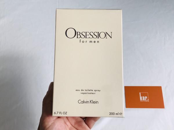 Nước hoa Nam Calvin KleinObsession EDT 200ml
