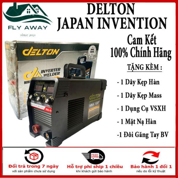 Máy Hàn Điện Tử DELTON MMA - Đen INVETER Cao Cấp. Bảo Hành Chính Hãng 12 tháng bởi Fly Away.