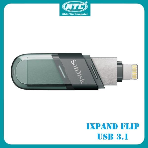 Bảng giá USB 3.1 OTG SanDisk iXpand Flash Drive Flip 32GB / 64GB / 128GB / 256GB (Bạc) - Nhất Tín Computer Phong Vũ