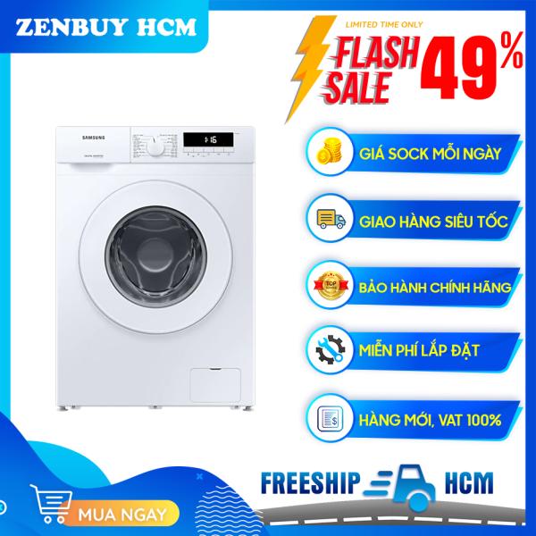 [Trả góp 0%]Máy giặt Samsung Inverter 8 kg WW80T3020WW/SV - Khóa trẻ em Tự động vệ sinh lồng giặt Chương trình giặt nhanh chính hãng
