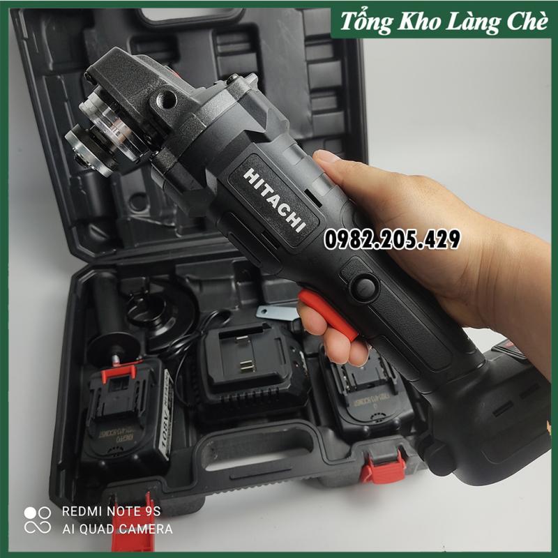 Thân máy mài Pin cầm tay lõi đồng không chổi than Hitachi dùng chung cho các loại pin 10Cell
