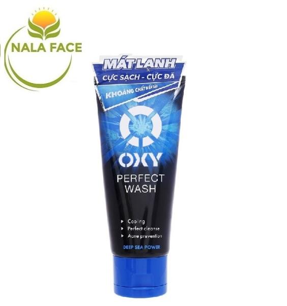 Sữa rửa mặt sạch bã nhờn ngừa mụn nam OXY Perfect Wash 100g giá rẻ