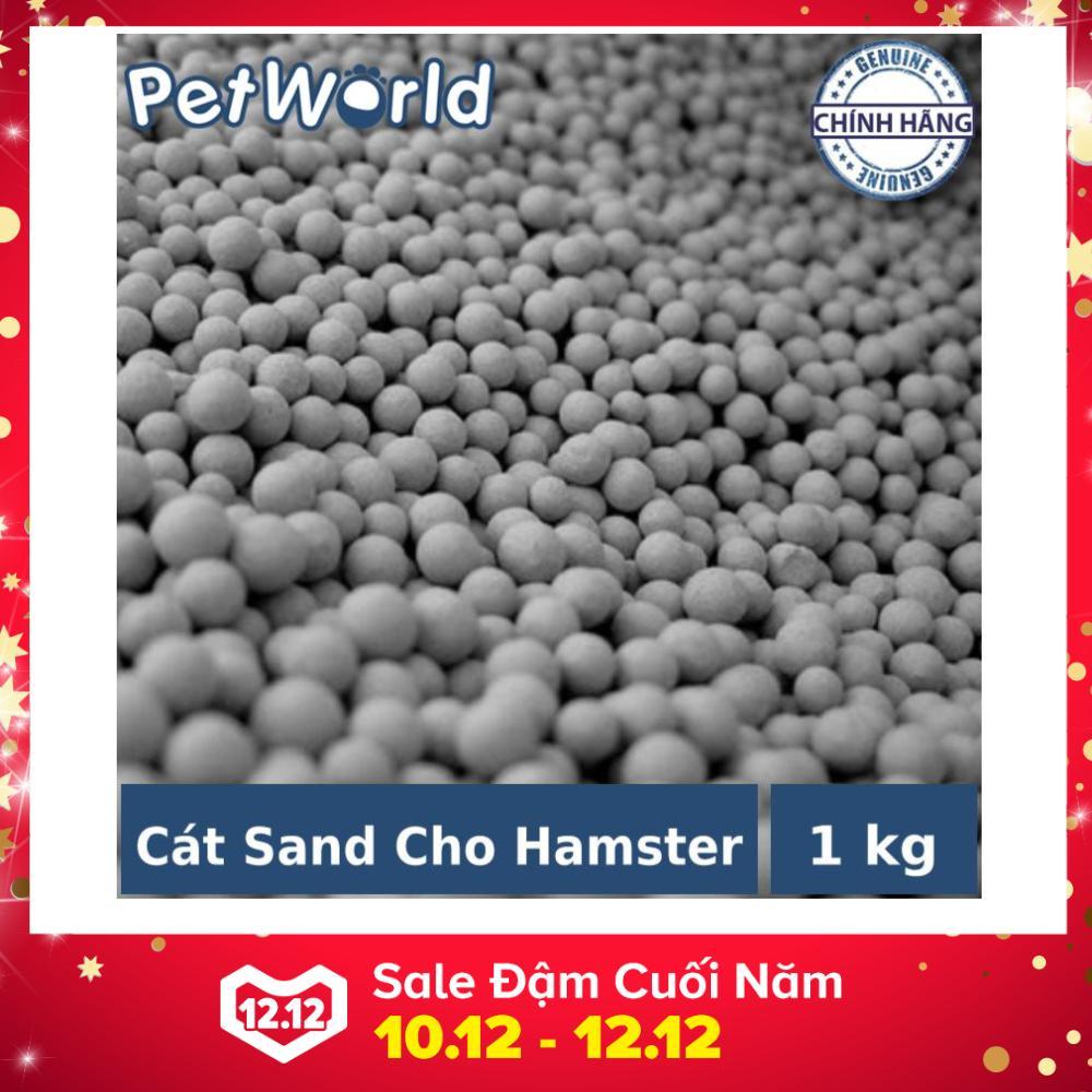 Cát Sand Thơm Li ti Lót Sàn Lót Chuồng Cho Hamster Và Thú Nhỏ - 1kg