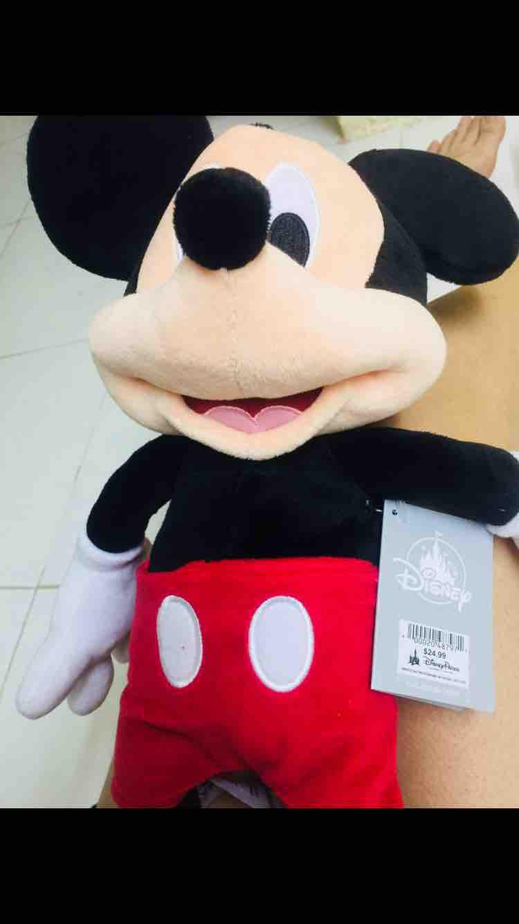 Thú Bông Mickey_ Disneyland Giá Rẻ Nhất Thị Trường