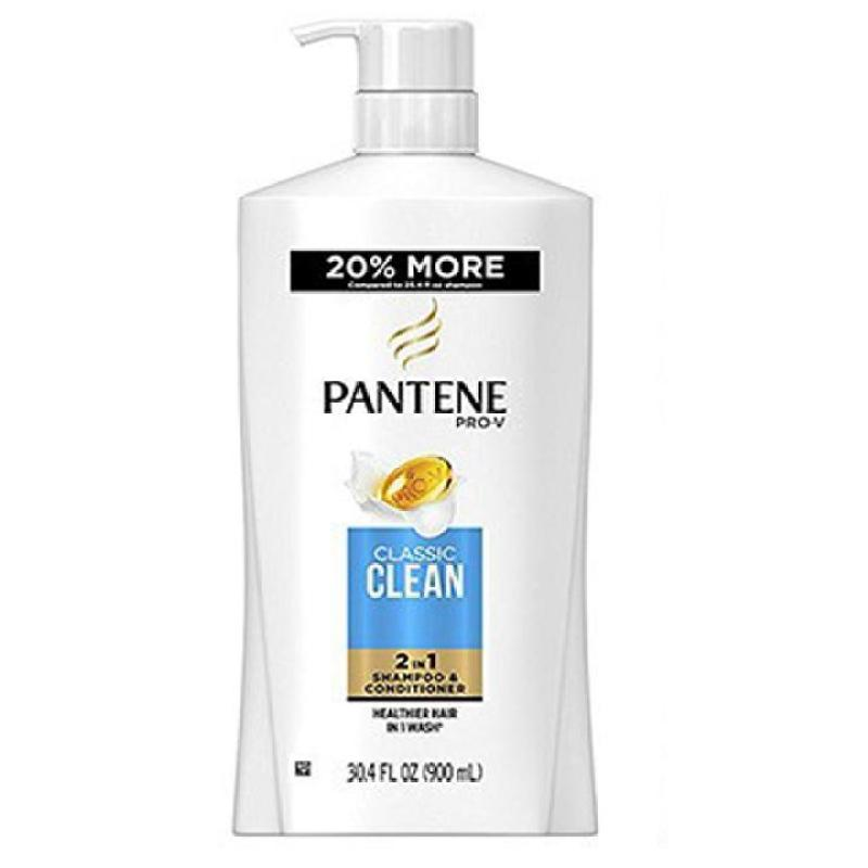 Dầu gội trị gàu kết hợp dầu xả Pantene Classic Clean Soin Classicque 2 in 1 900ml giá rẻ
