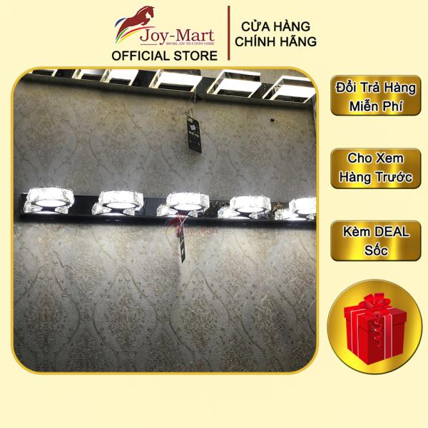 Đèn Soi Tranh - JOYMART - Đèn Chiếu Tranh Thân INOX Cao Cấp, LED 300k, 5 tay Chiếu sáng Thiết Kế Độc Đáo MST58208/5