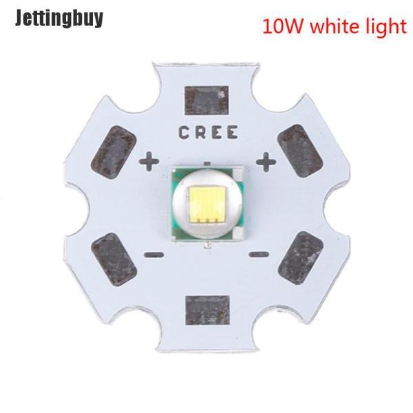 Jettingbuy Wujiaxin CREE XML2 XM-L2 10W Trắng Đỏ Xanh Lục Vàng Vàng Chip Công Suất Cao Đèn LED + 16/20Mm PCB
