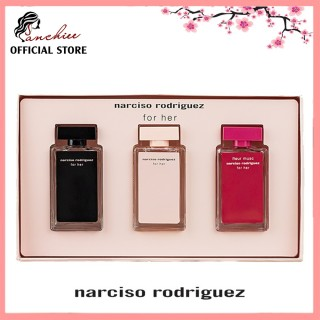 Bộ 3 chai nước hoa Narciso Rodriguez For Her. phong cách trẻ trung đến vẻ quyến rũ, thumbnail