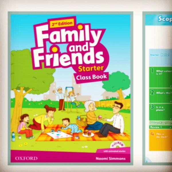 Bảng giá Sách tương tác Family and Friends starter cho bé Phong Vũ
