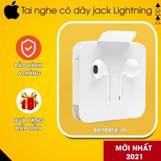 Tai Nghe Iphone 11 11Promax X Xs XS Max Xr Chuẩn Zin Chính Hãng Jack Lightning Sử Dụng Cho Tất Cả Các Dòng Iphone thumbnail