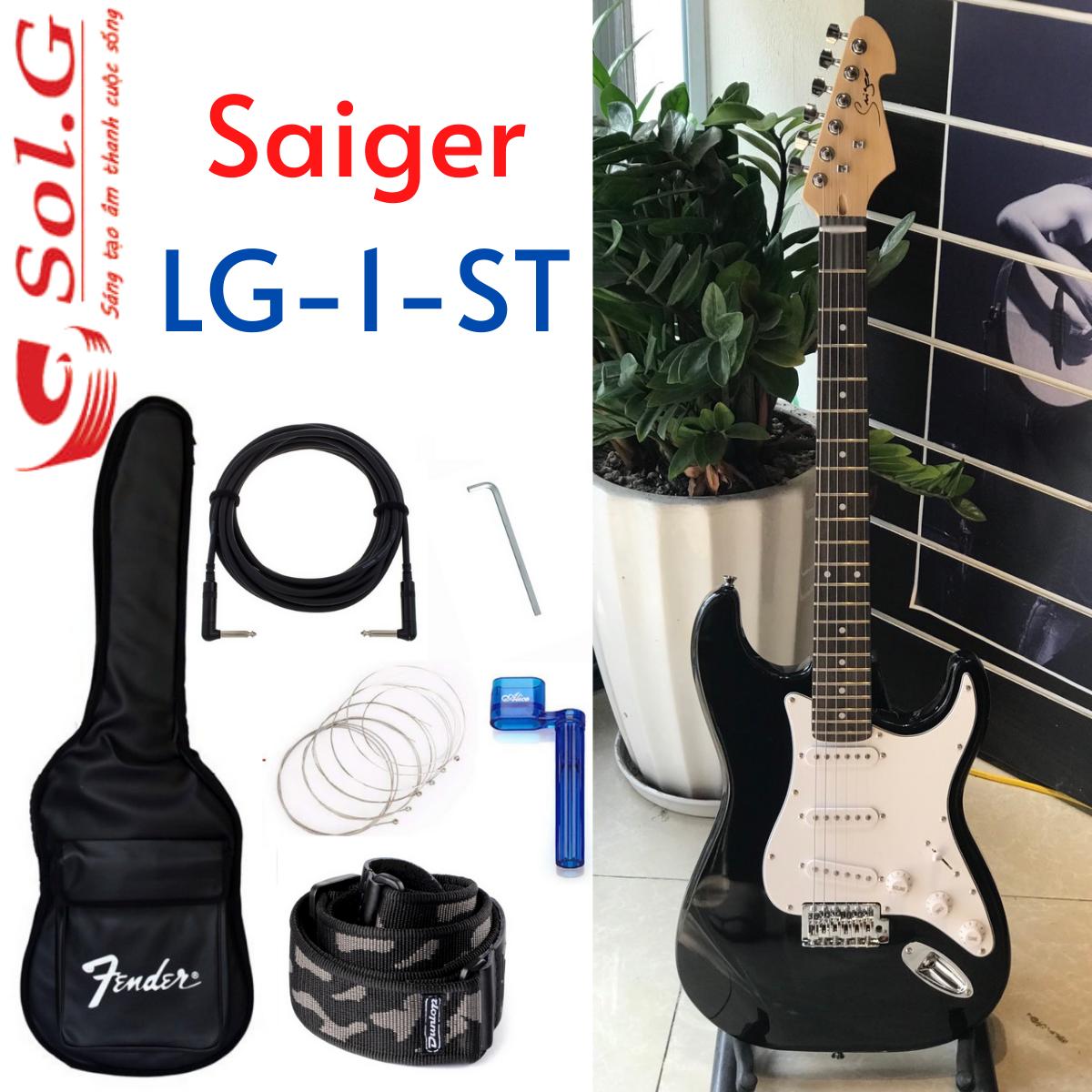 Guitar Điện Biểu Diễn Saiger LG-1-ST + Bộ Phụ Kiện