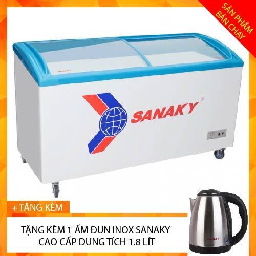 TỦ ĐÔNG TRƯNG BÀY KEM SANAKY INVERTER 210 LÍT VH-2899K3