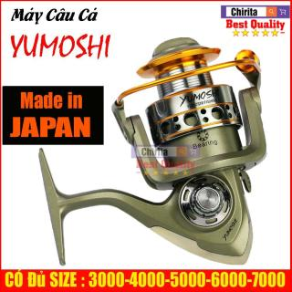 Máy câu cá Yumoshi LC 12 Bạc Đ.ạn ĐỦ SIZE 3000, 4000, 5000, 6000, 7000 thumbnail