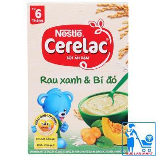 Bột Ăn Dặm Dinh Dưỡng Nestlé Cerelac Rau Xanh & Bí Đỏ Hộp 200g (Dành cho trẻ từ 6 tháng tuổi) thumbnail