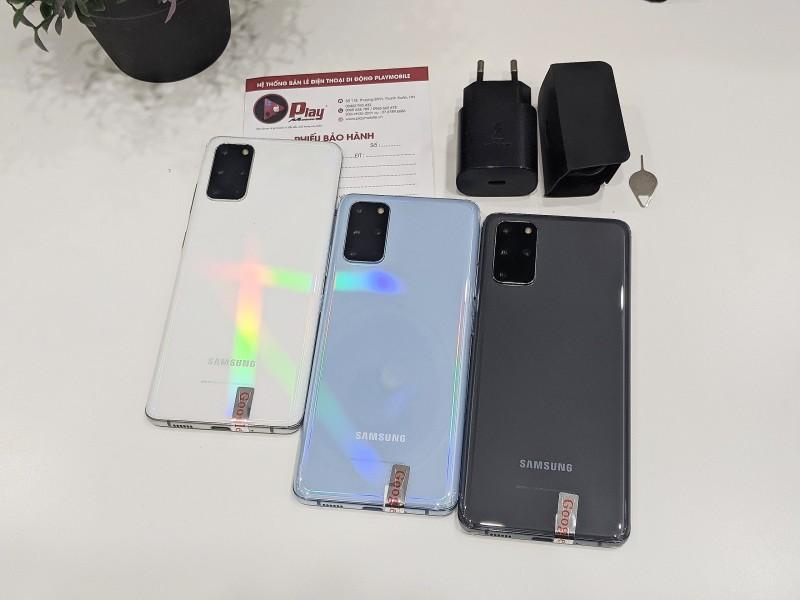 Điện thoại Samsung Galaxy S20+ Bản Hàn | Ram 12GB - Snapdragon 865 | Tại Playmobile
