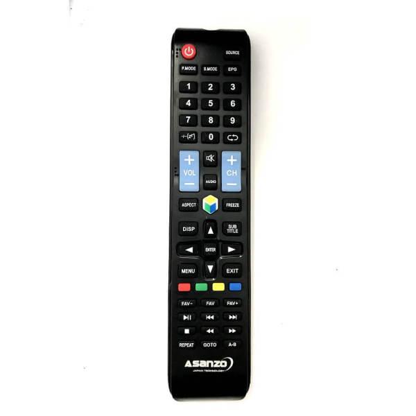 Bảng giá Remote điều khiển tivi Asanzo smart dài