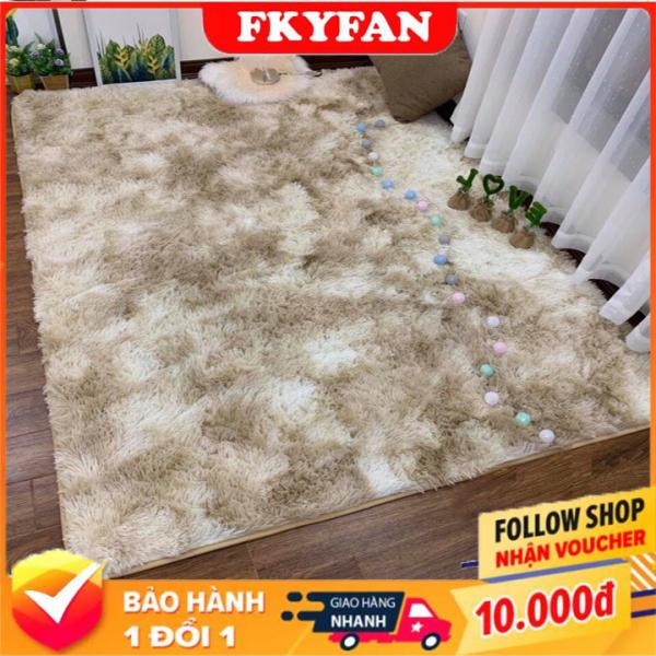 Thảm Trải Sàn hót nhất 2020 (1,6m x 2m ), Thảm lông trải sàn phòng ngủ phòng khách - TLX
