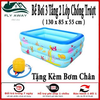 Bể Bơi Mùa Hè, Bể Phao Bơi Cho Bé , Hồ Bơi Mini , Bể bơi 3 tầng cho bé. Bảo Hành 12 tháng. thumbnail
